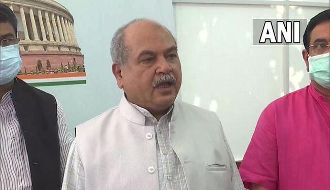 संसद बाधित होने पर विपक्ष पर बिफरे केंद्रीय मंत्री नरेंद्र सिंह तोमर, कहा- नए कृषि कानूनों में कुछ काला नहीं