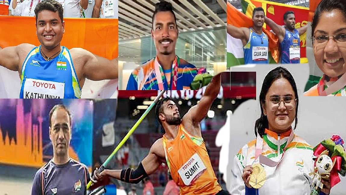Paralympic 2020 : ये हैं भारत के 10 पदकवीर, जिसने दिव्यांगता को बनाया हथियार और रच दिया टोक्यो में इतिहास