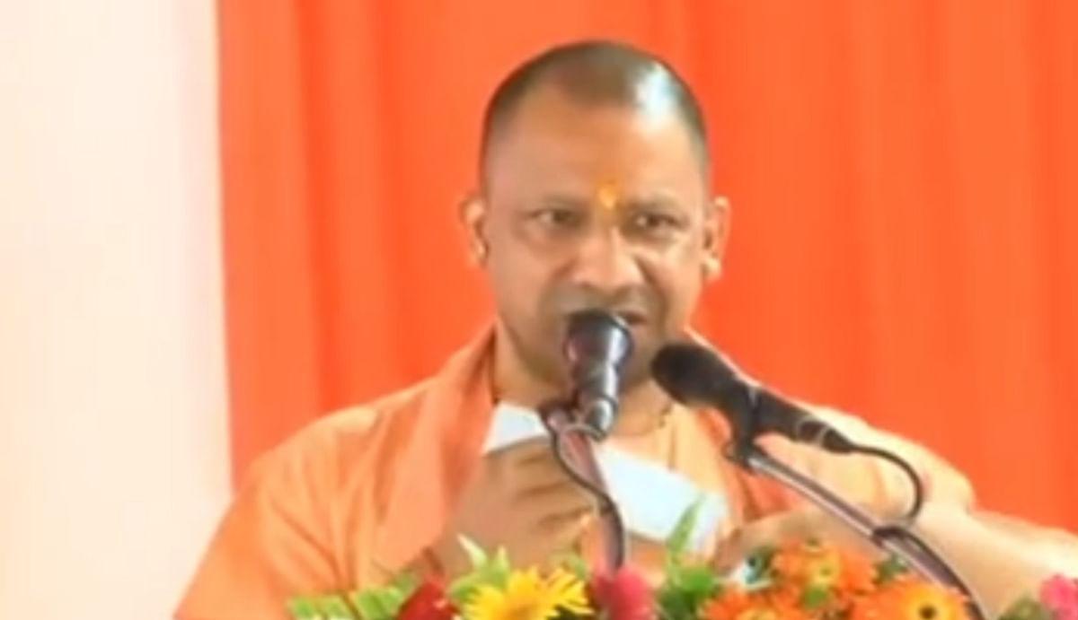 यूपी चुनाव के पहले अब सीएम योगी ने भी छेड़ा डीएनए वाला राग, कहा - 'जय श्रीराम' नहीं बोलने वालों पर होता है शक
