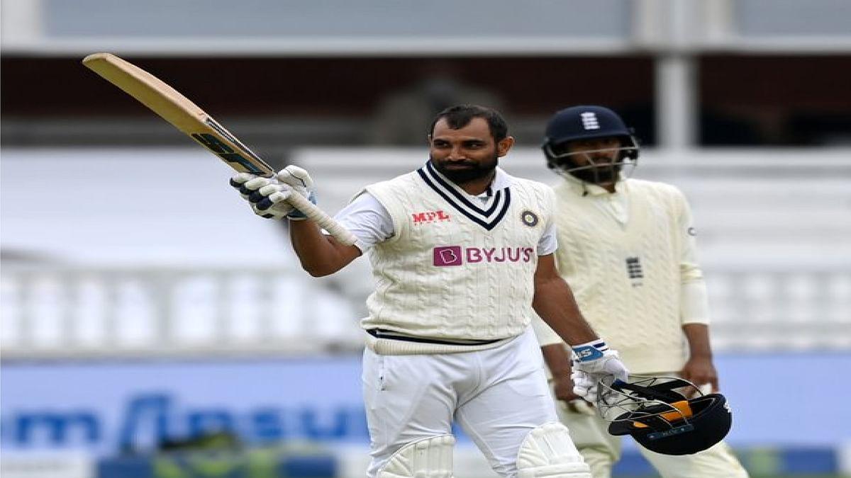 लॉर्ड्स के मैदान में मोहम्मद शमी ने 'क्रिकेट के भगवान' को पीछे छोड़ा, अर्धशतक जमाकर की धौनी-सहवाग की बराबरी