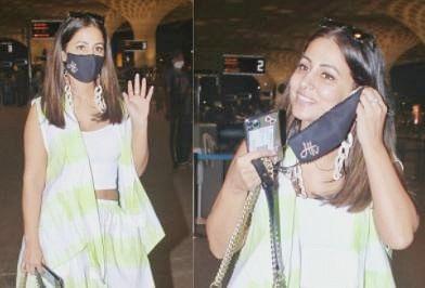 इंटरनेट पर छाया हिना खान का एयरपोर्ट लुक, स्वैग बना देगा दीवाना