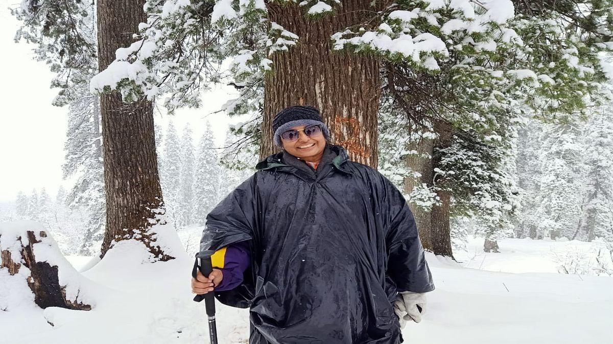 National Mountain Climbing Day 2021 : बारिश व बर्फबारी के बीच बोकारो की डॉ तृप्ति ने केदारकंठ को किया फतह