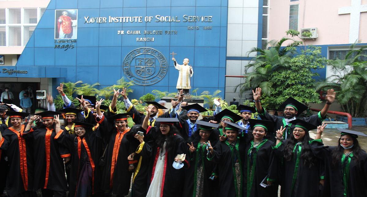 XISS रांची के 60वें दीक्षांत समारोह में 298 छात्र  हुए सम्मानित,विशाल बोले- बिना मेहनत के नहीं हो सकता कोई सफल