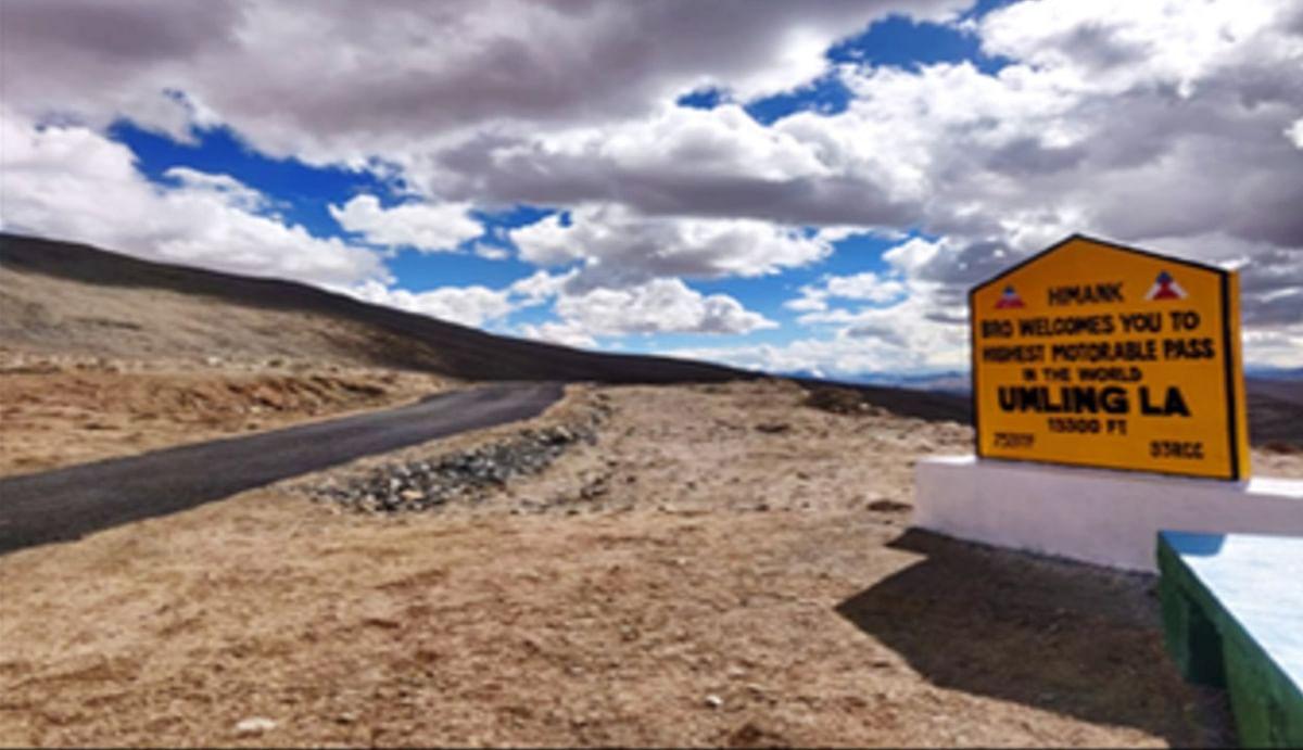चीन को छक्का छुड़ाने के लिए भारत ने पूर्वी लद्दाख में बनाई दुनिया की सबसे ऊंची सड़क, तोड़ा बोलिविया का रिकॉर्ड