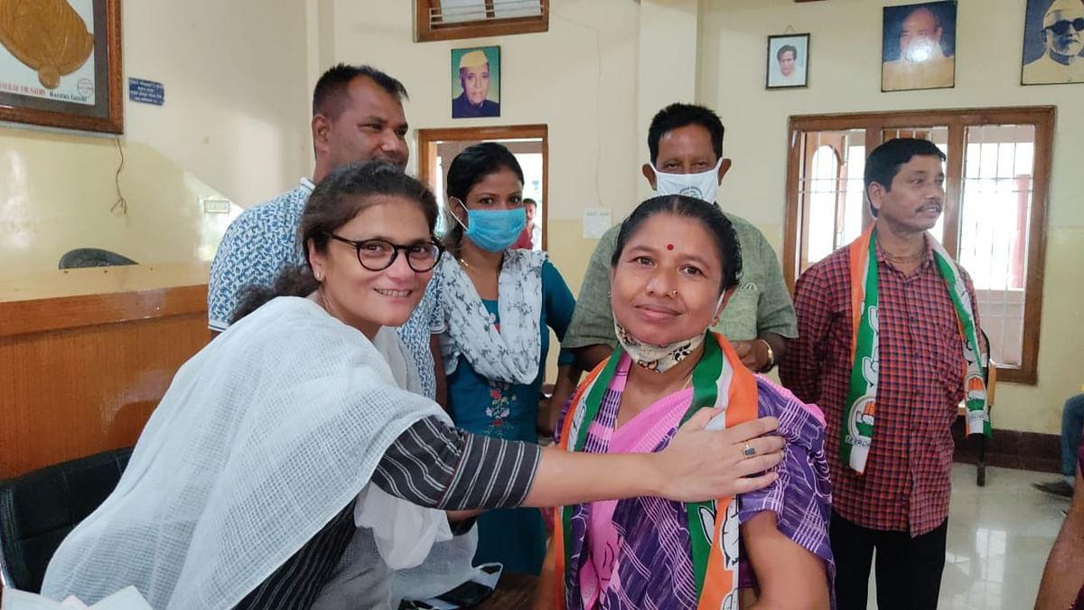 Sushmita Dev : कांग्रेस को बड़ा झटका, सुष्मिता देव ने दिया इस्तीफा, TMC में हुईं शामिल