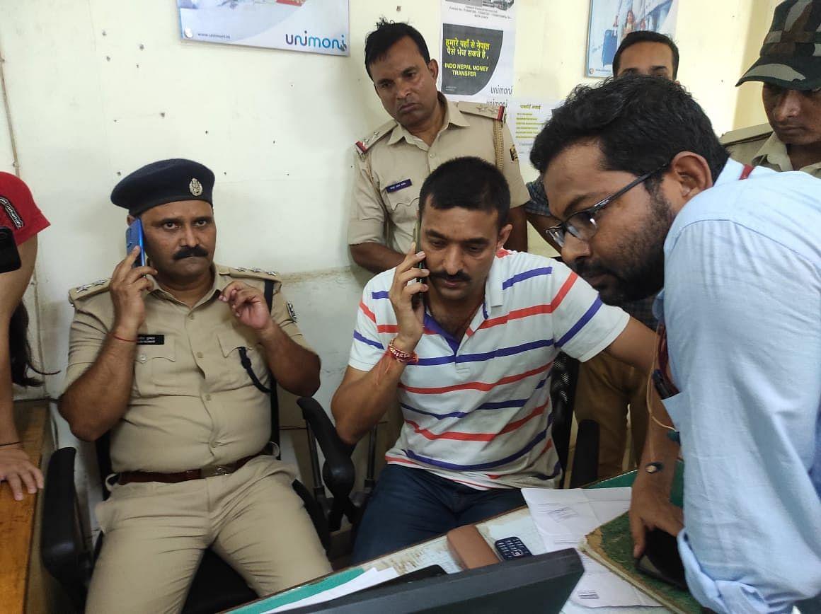 CCTV फुटेज: बिहार में गार्ड को गोली मार 39 लाख लूटकर भागे अपराधी, कैमरे में कैद हुई पूरी घटना