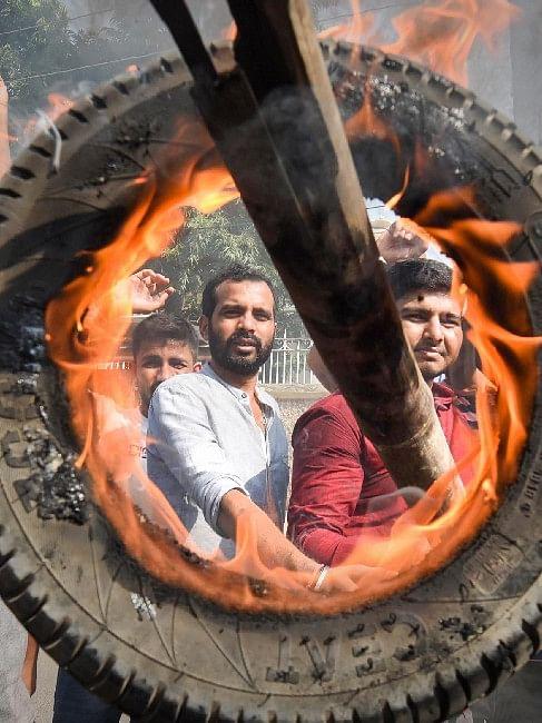 सिंघु बॉर्डर पर किसान की मौत