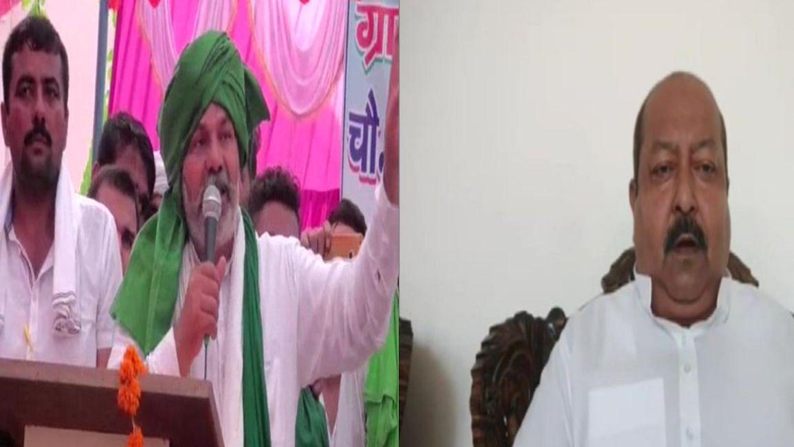 बीजेपी के लिए काम कर रहे हैं राकेश टिकैत, किसानों को दे रहे हैं धोखा, AIMIM ने लगाया गंभीर आरोप