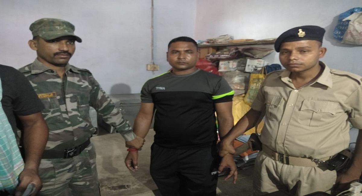 Jharkhand Crime News: जामताड़ा के होमगार्ड मुंशी मनोज पांडेय घूस लेते गिरफ्तार, दुमका ACB की टीम ने की कार्रवाई