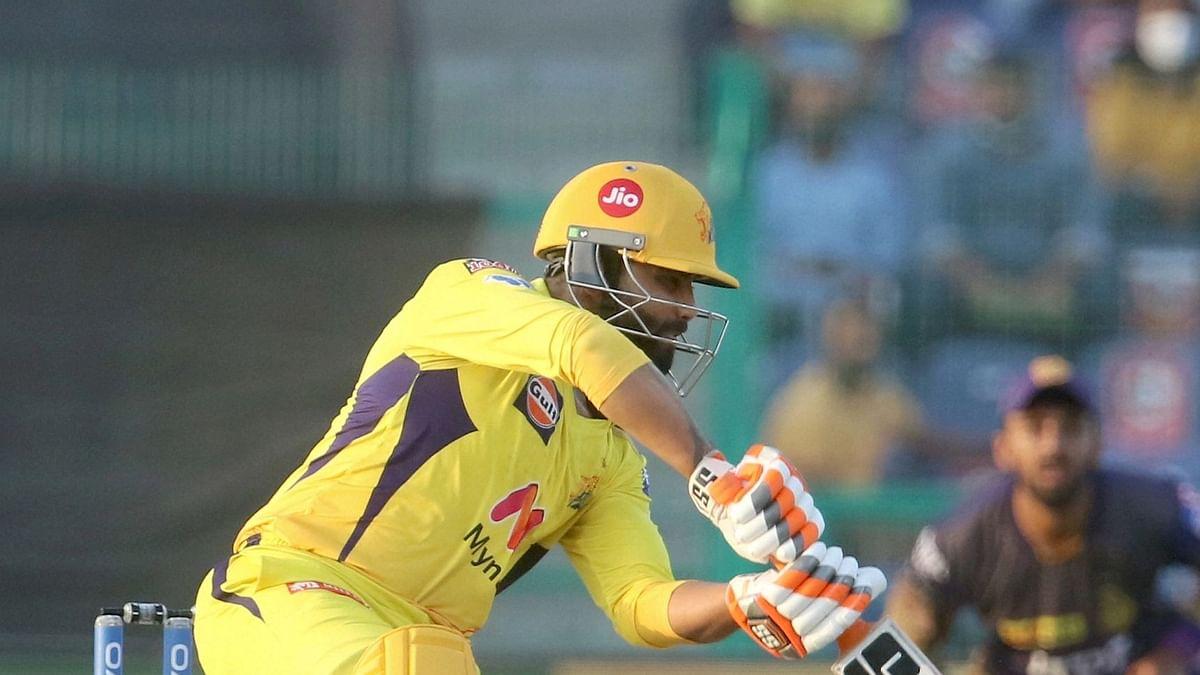 IPL 2021: रवींद्र जडेजा ने ठोका 4 गेंद पर 20 रन, चेन्नई ने जीती हारी बाजी, तारीफ करते नहीं थक रहे धोनी
