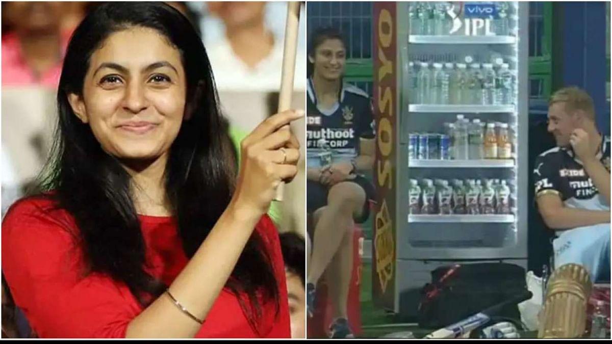 कोहली का यह गेंदबाज IPL मैच के दौरान ही करने लगा फ्लर्ट, जानिए आखिर कौन हैं RCB की यह मोहतरमा