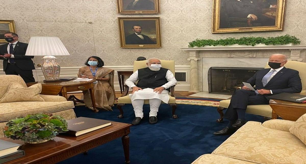 भारत और अमेरिका के बीच और मजबूत दोस्ती के बीज बोये गये, जो बाइडेन से मुलाकात में बोले पीएम नरेंद्र मोदी