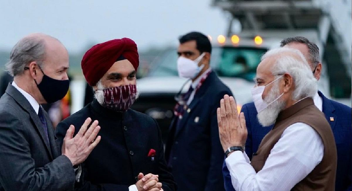 PM Modi/Washington: वॉशिंगटन पहुंचे पीएम मोदी, हुआ जोरदार स्वागत, बारिश के बीच गाड़ी से उतरे मोदी और...