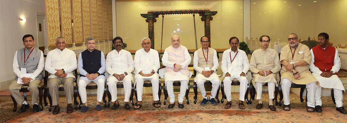 एक साल में खत्म की जाये नक्सल समस्या, अमित शाह ने मुख्यमंत्रियों के साथ में बैठक में कहा