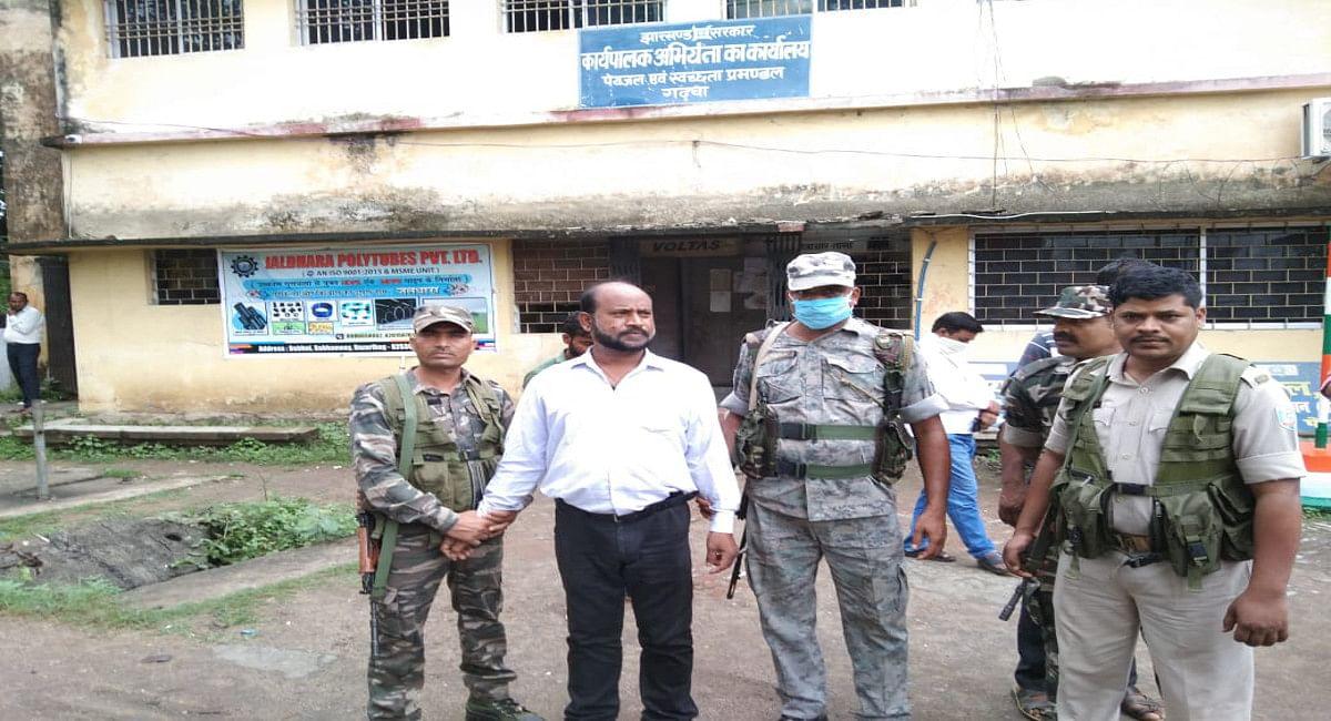 Jharkhand News : गढ़वा PHED विभाग के कैशियर घूस लेते गिरफ्तार, पलामू ACB की टीम ने की कार्रवाई