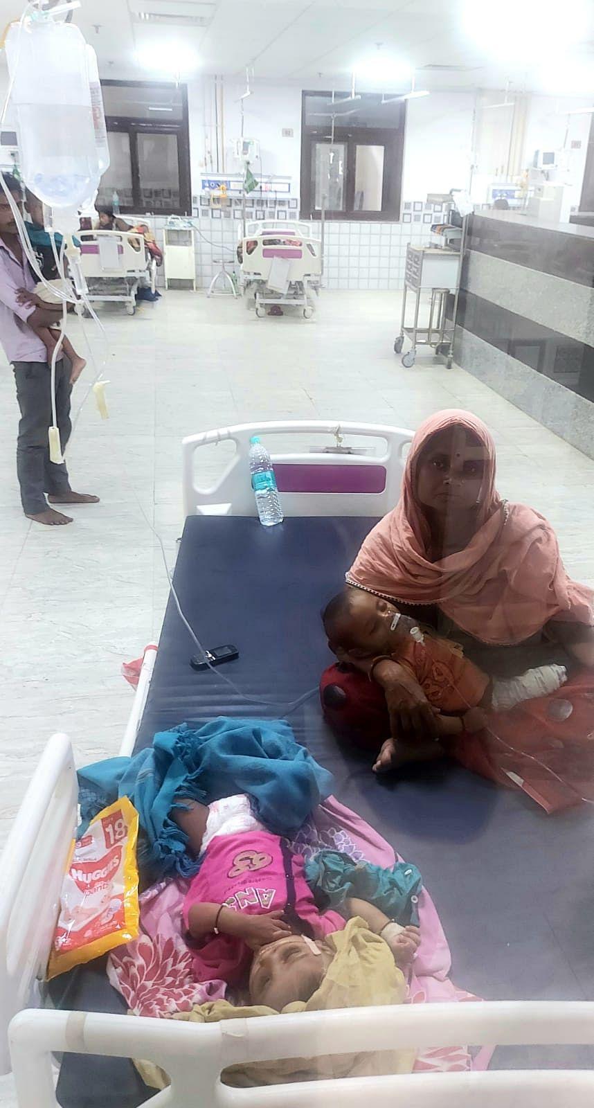 Viral fever in Bihar:  गोपालगंज में 100 से ज्यादा बच्चे बीमार, अब तक 3 की मौत, अस्पताल में बेड फुल