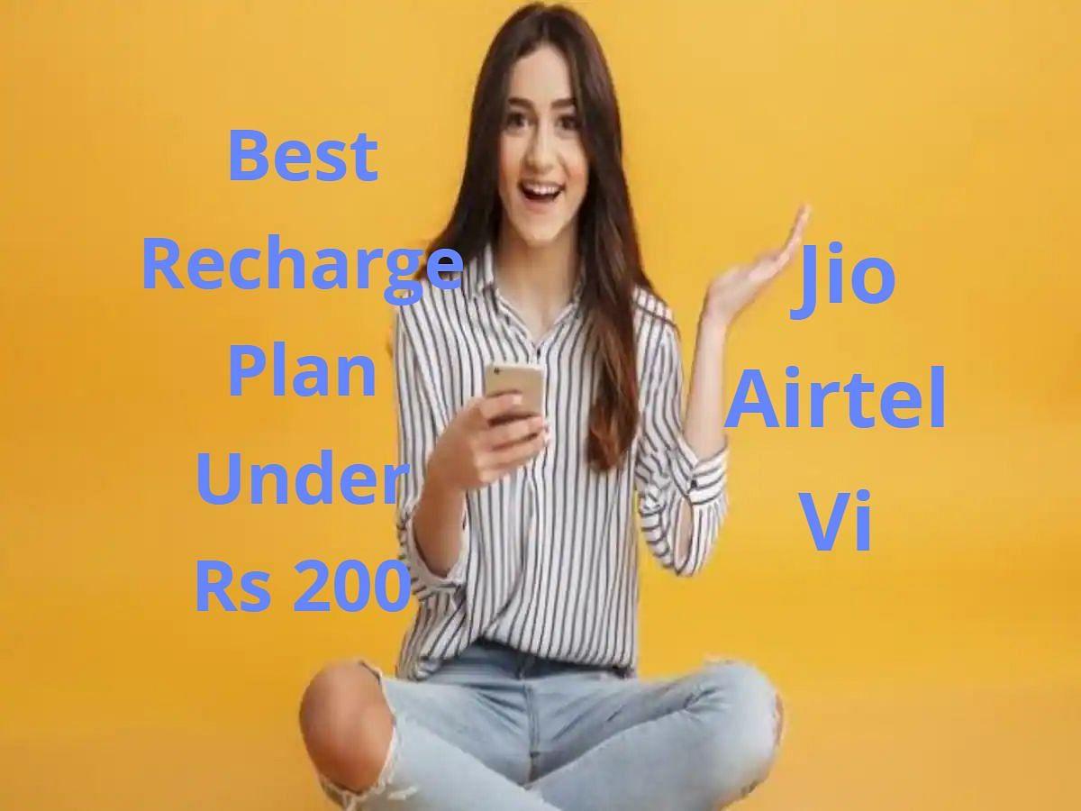 Jio, Airtel, Vi के 200 रुपये से सस्ते रीचार्ज प्लान्स, अनलिमिटेड कॉलिंग के साथ मिलेगा डेटा का भी फायदा