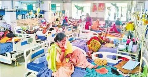वायरल बुखार से पटना में एक और बच्चे की मौत, बिहार में अब तक 8482 बीमार बच्चे पहुंचे अस्पताल