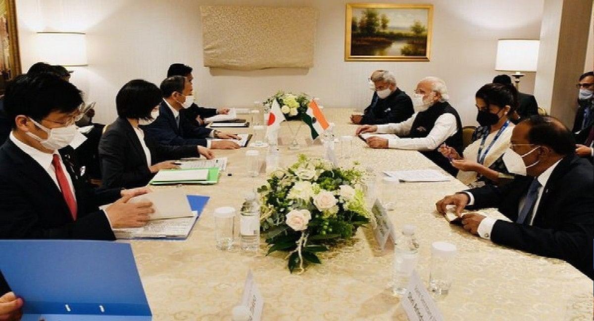 भारत और जापान की दोस्ती पूरी दुनिया के लिए शुभ संकेत, योशीहिदे सुगा से मिले पीएम मोदी, कई मुद्दों पर की बात