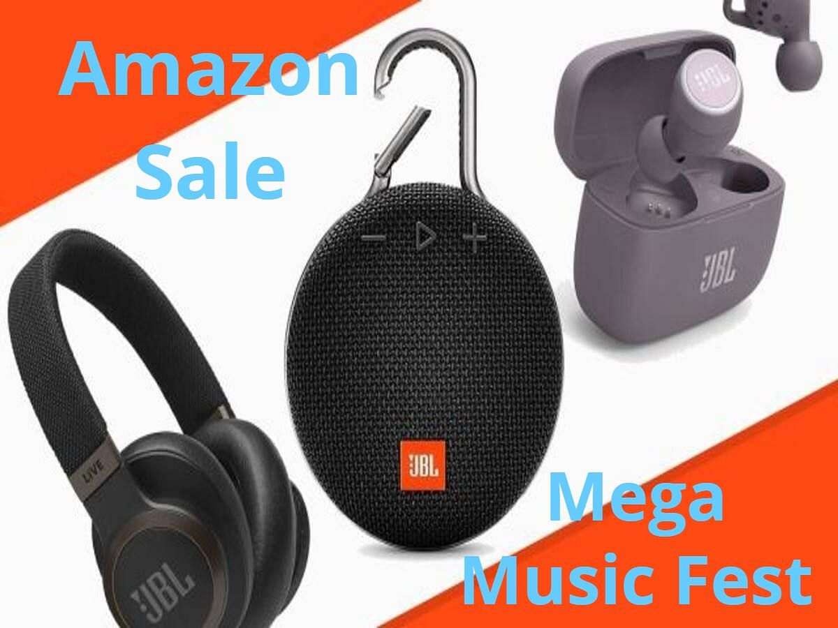 Great Indian Festival से पहले Amazon लाया Mega Music Fest Sale: हेडफोन, ईयरफोन, साउंडबार स्पीकर्स पर बड़ी छूट