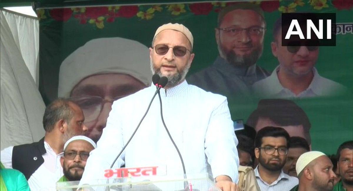 AIMIM के अध्यक्ष असदुद्दीन ओवैसी ने कहा, देश में मुसलमानों की स्थिति बारात की 'बैंड बाजा पार्टी' जैसी
