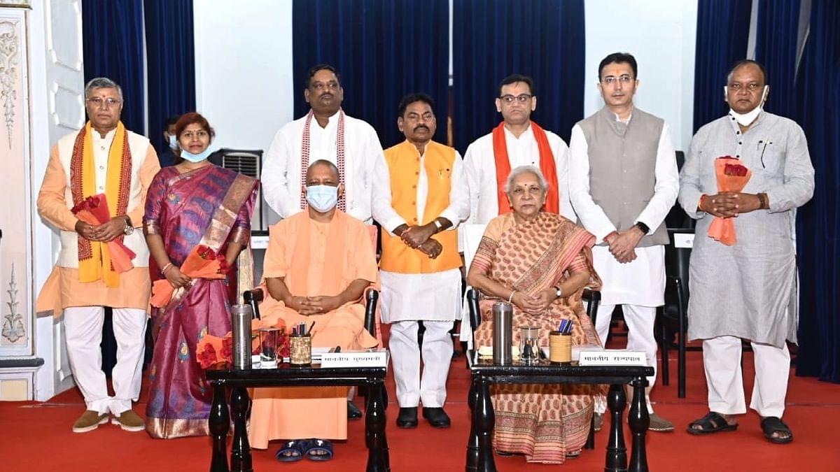 Yogi Cabinet Expansion: शपथ लेने वाले मंत्रियों को विभागों का आवंटन, जानें, किसे कौन सा विभाग मिला