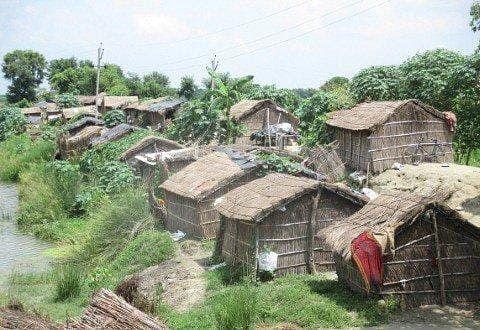 Bihar News: बारिश थमने के बाद भी लोगों पर आफत जारी, गंडक किनारे कटाव से डरकर घर तोड़ने लगे ग्रामीण