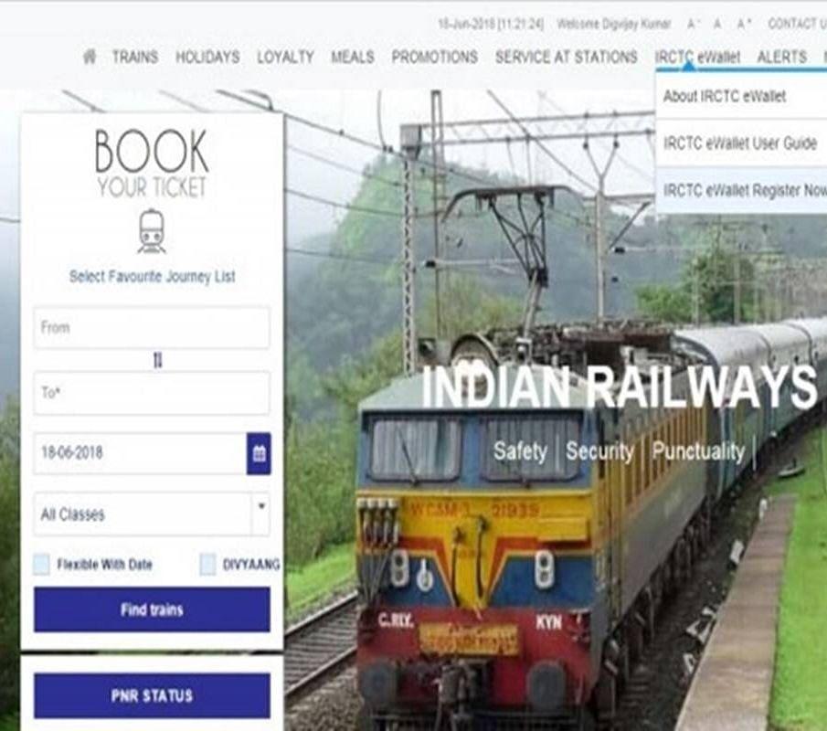 IRCTC Indian Railway News