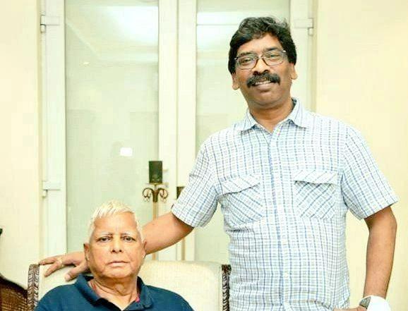 झारखंड के सीएम हेमंत सोरेन ने राजद सुप्रीमो लालू प्रसाद को बताया अभिभावक, की ये कामना