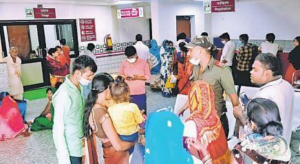 बिहार में अब तक 830 बच्चों में वायरल बुखार, 113 हुए भर्ती, कोरोना के 12 नये मरीज भी मिले