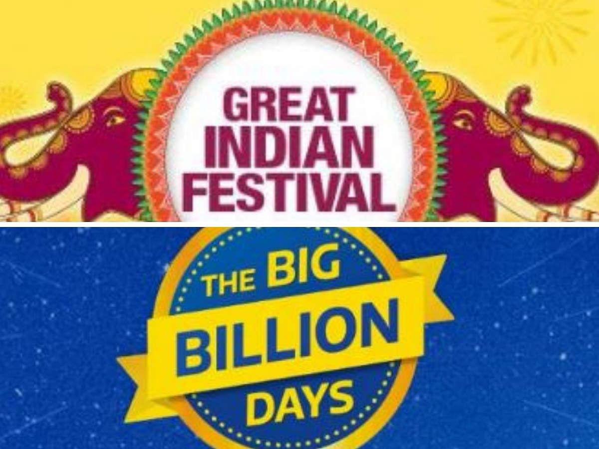 Flipkart Big Billion Days सेल से इतने दिन पहले आ रहा Amazon Great Indian Festival 2021