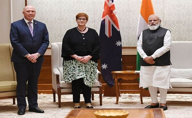भारत और ऑस्ट्रेलिया के बीच वार्ता में तालिबान के कब्जे के बाद अफगानिस्तान संकट पर हुई चर्चा