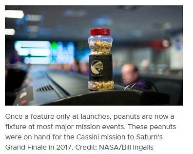 मिशन के दौरान मूंगफली क्यों खाते हैं NASA के वैज्ञानिक?
