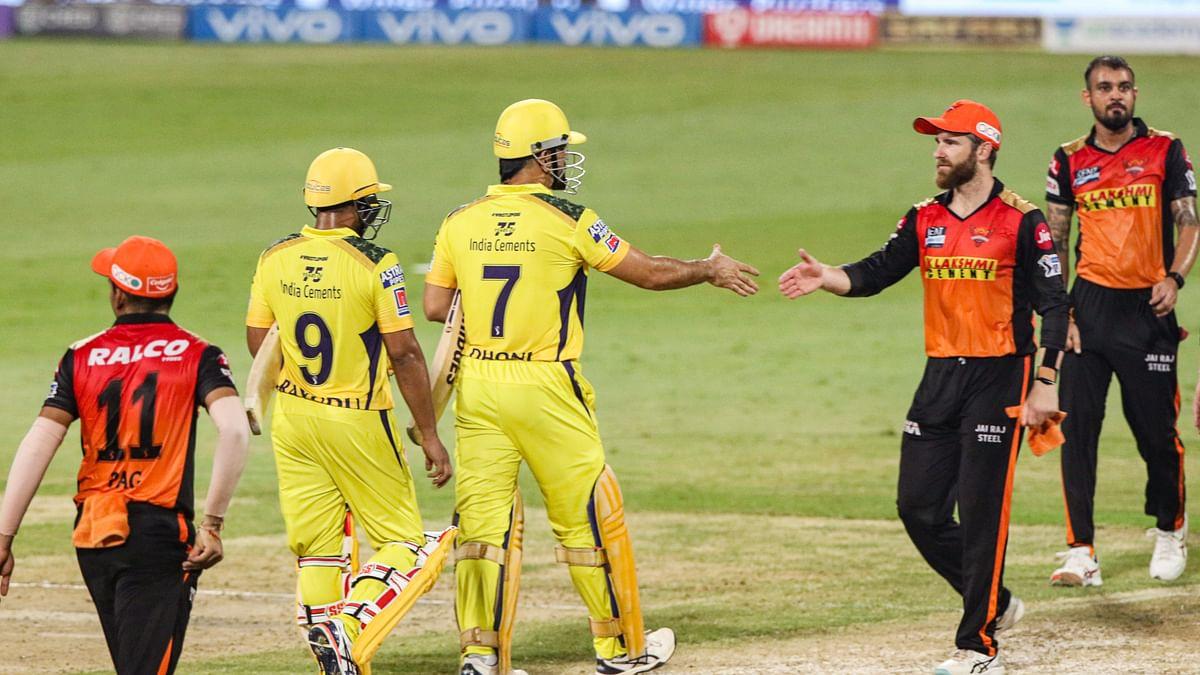 CSK vs SRH IPL 2021 : धोनी ने फिर लगाया विजयी छक्का, प्लेऑफ में पहुंचा चेन्नई सुपर किंग्स