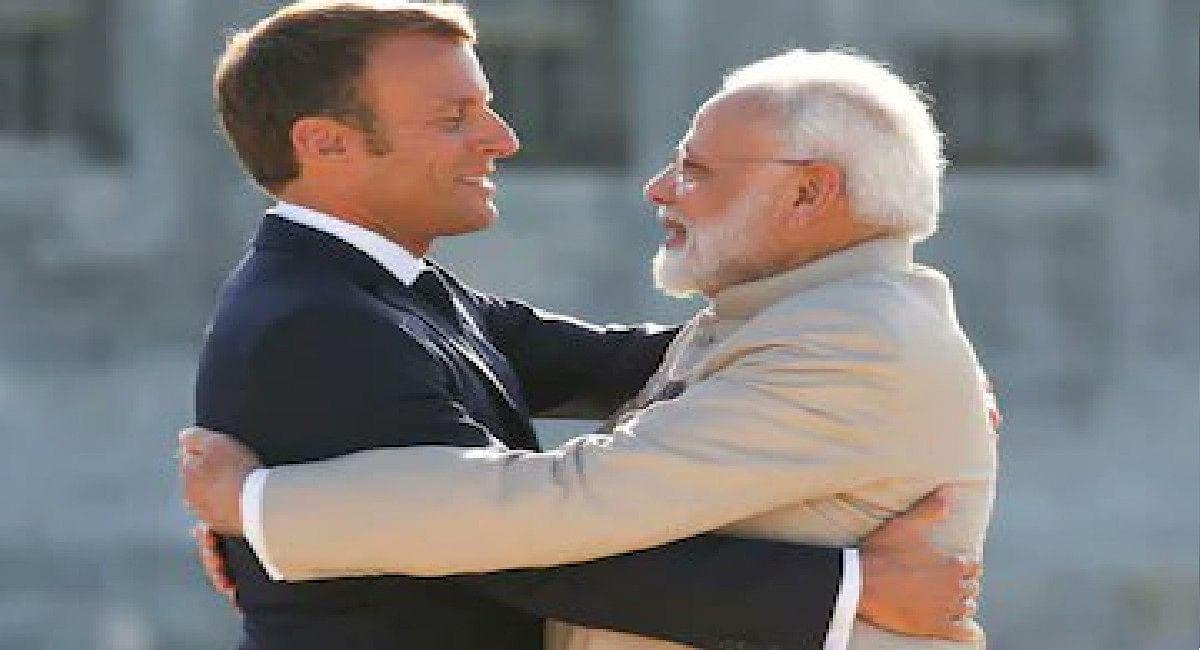 फ्रांस के राष्ट्रपति ने कुछ इस अंदाज में दिया पीएम मोदी को धन्यवाद, सुर्खियां बटोर रहा ट्वीट