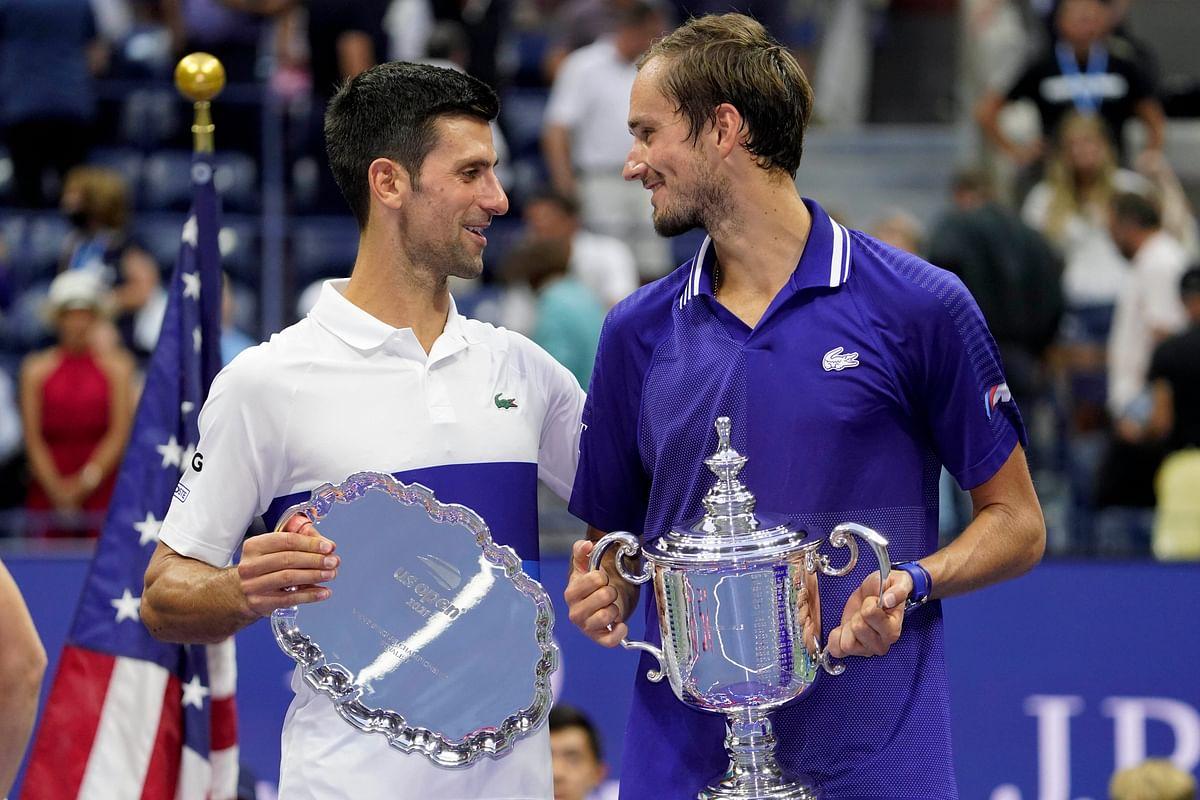 US Open: रूस के मेदवदेव ने तोड़ा टेनिस स्टार जोकोविच का सालों पुराना सपना, शान से जीता ग्रैंडस्लैम