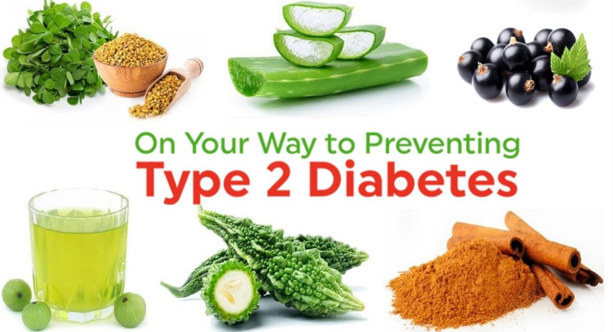Home Remedies and herbs to control type 2 diabetes