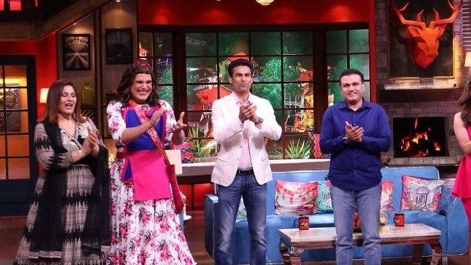 The Kapil Sharma Show: ऐश्वर्या राय के साथ कैफ की पुरानी तसवीर पर कपिल ने लिये मजे, सहवाग ने कर दी बोलती बंद