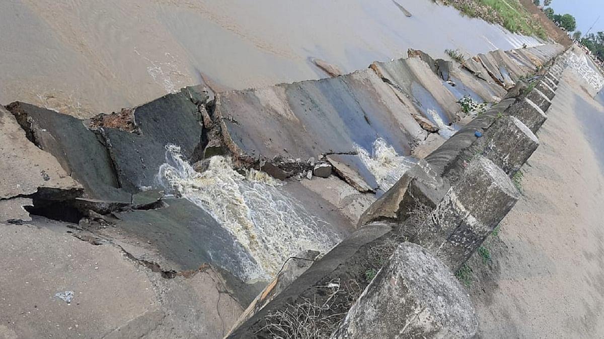 चानन पुल क्षतिग्रस्त होने से बढ़ी कठिनाई, दरभंगा बस डिपो ने बंद की बस सेवा