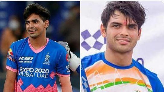 IPL 2021 में भी नीरज चोपड़ा का जलवा! राजस्थान के जीत के बाद तसवीरें हुईं वायरल