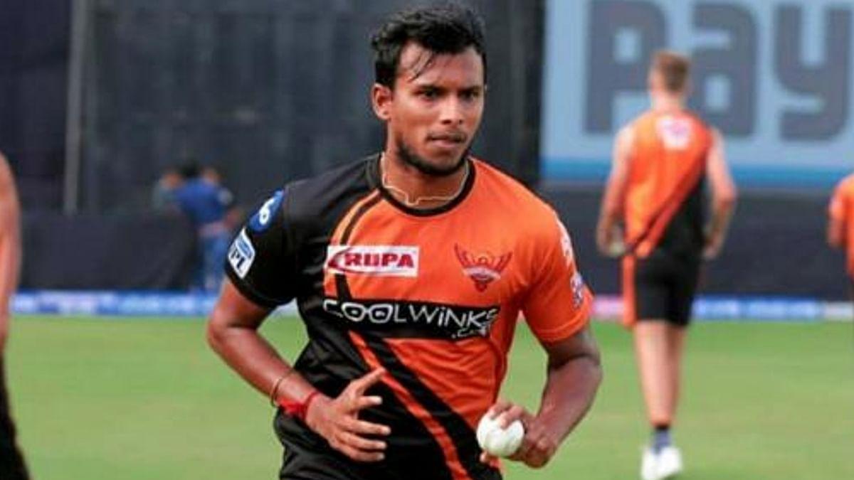 IPL 2021 पर मंडराया खतरा, हैदराबाद के टी नटराजन कोरोना पॉजिटिव, 6 और लोग आइसोलेशन में