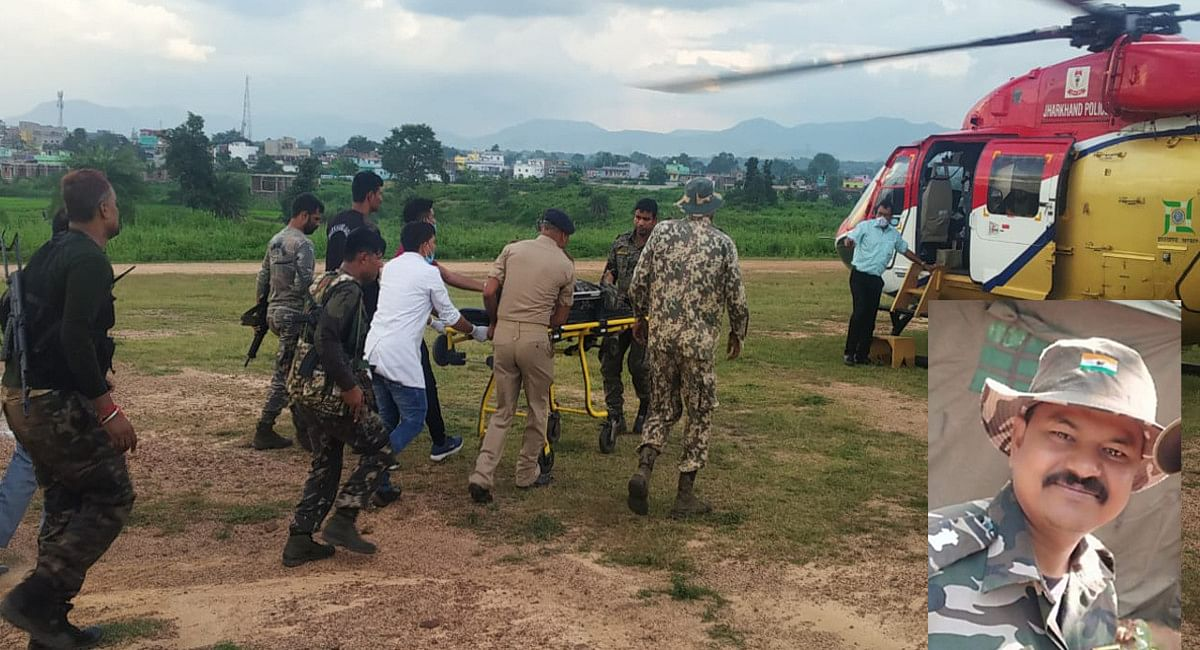 Jharkhand Naxal News: लातेहार में पुलिस-नक्सली मुठभेड़, झारखंड जगुआर के सहायक कमांडेंट शहीद, एक नक्सली हुआ ढेर