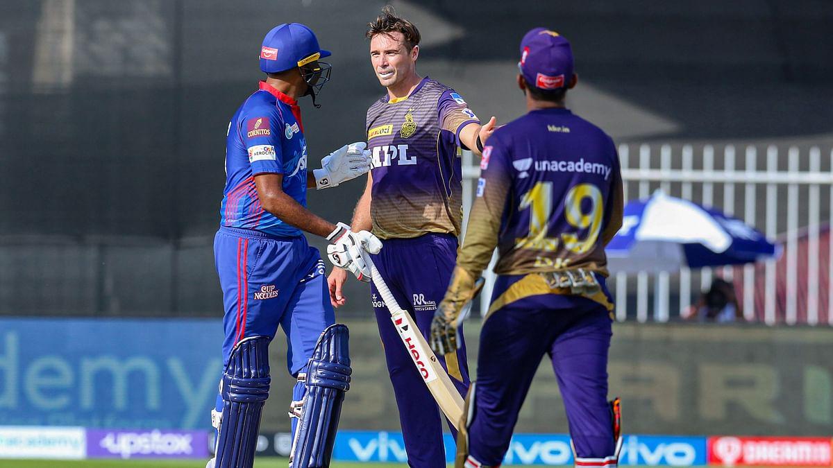 IPL 2021: बीच मैदान पर अश्विन, साउदी और मॉर्गन के बीच भयंकर झगड़ा, दिल्ली-केकेआर मुकाबले में हाई वोल्टेज ड्रामा