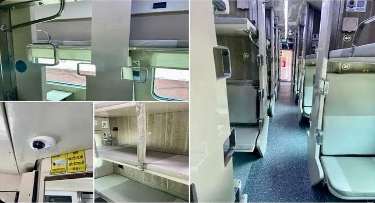 Indian Railways : अब स्लीपर क्लास के टिकट पर एसी कोच में कर सकेंगे सफर, रेलवे के नियम में बदलाव, देखें वीडियो