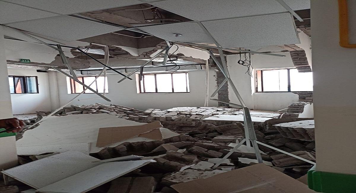 पटना: IGIMS अस्पताल की दीवार गिरने से जख्मी हुए मजदूर की मौत, ब्रेन व पैर की नस फटने से गयी जान