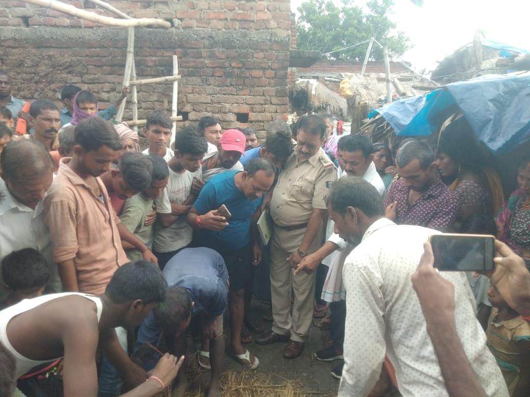 Bihar News  जहानाबाद में मिट्टी की दीवाल गिरने से दो बच्ची की मौत और दो जख्मी