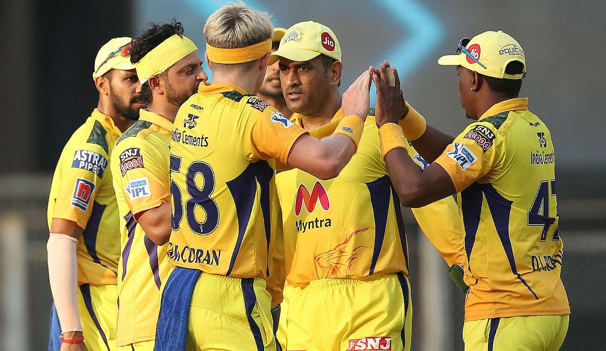 चेन्नई सुपर किंग्स की टीम