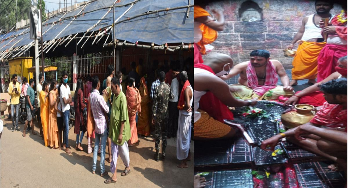 बाबा बैद्यनाथ मंदिर में E-Pass के लिए वेबसाइट बंद रहने से नयी बुकिंग नहीं,दूसरे दिन 800 श्रद्धालुओं ने की पूजा