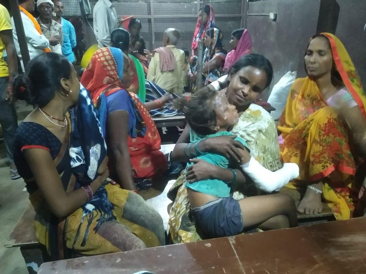 राजधानी पटना के नौबतपुर में रसोई गैस में आग लगने से एक ही परिवार के पांच झुलसे
