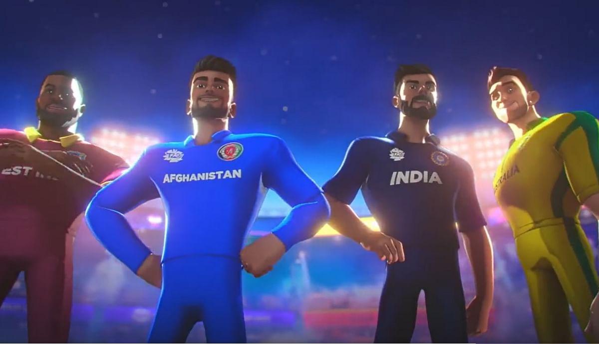 T20 वर्ल्ड कप के लिए ICC ने जारी किया थीम सॉन्ग, एनिमेटेड अवतार में नजर आये विराट कोहली